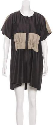Balenciaga Paneled Mini Dress