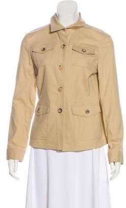 Theory Lightweight Button-Up Jacket