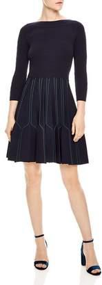 Sandro Fur A-line Dress