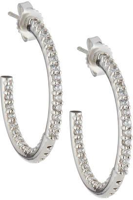 FANTASIA Cubic Zirconia Hoop Earrings