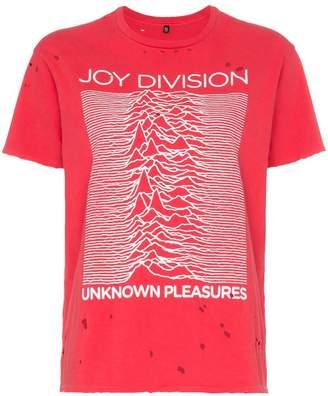 R 13 joy division distressed cotton T-shirt