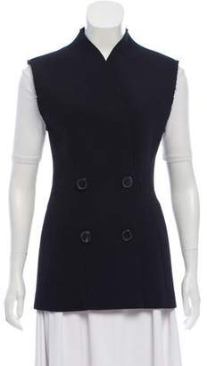 Tome Double-Breasted Virgin Wool Vest