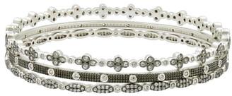 Freida Rothman Set of 3 Stacking Bracelets