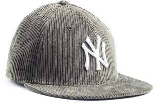 1508a0f6c43 Todd Snyder Exclusive + New Era Corduroy Yankees Cap in Olive