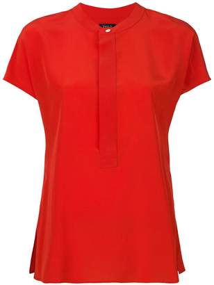 Polo Ralph Lauren mandarin-collar blouse