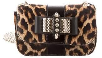 Christian Louboutin Ponyhair Mini Sweet Charity Bag