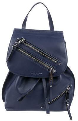 Marc Jacobs Leather Zip Backpack