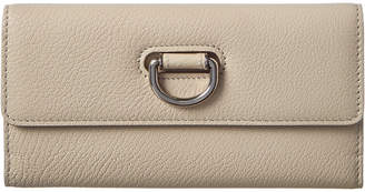Burberry D-Ring Leather Continental Wallet