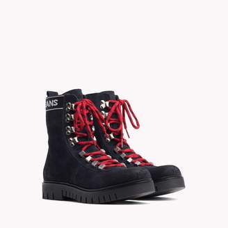 Tommy Hilfiger Suede Hiking Boot