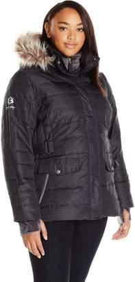 Free Country Women's Plus Size Polyair Touch Bib Down Jacket