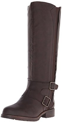 Kenneth Cole REACTION Women's Jenny Stride Riding Boot $150 thestylecure.com