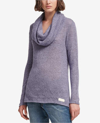 DKNY Cowl-Neck Sweater
