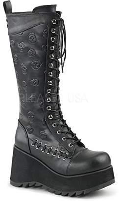 Demonia Women's SCENE-107 Knee High Boot