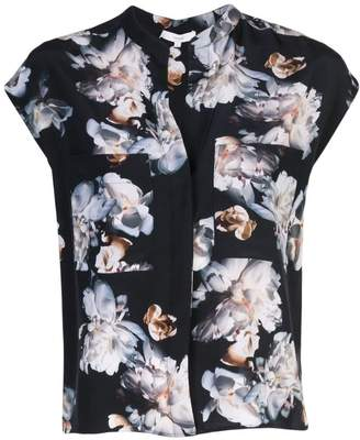 Vince sleeveless floral shirt