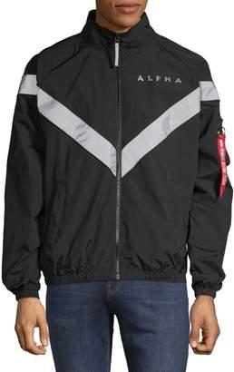 Alpha Industries Contrast Logo Track Jacket