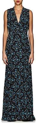 Altuzarra Women's Medina Floral Silk Maxi Dress