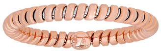 Milani Alberto 18K Rose Gold Tubogas Band Ring, Size 7