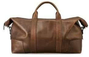 Shinola Large Leather Caryall Bag
