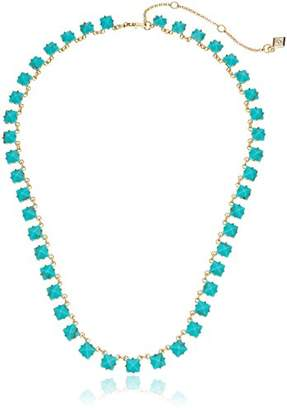 Vera Bradley Heart Bent Short Rose Gold Pendant Necklace