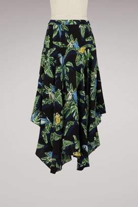 Stella McCartney Poppy silk skirt