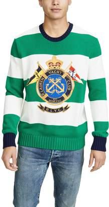 Polo Ralph Lauren Crest Stripe Sweater