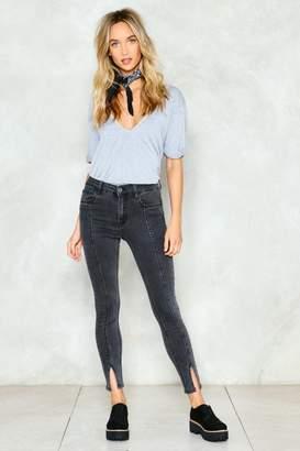 Nasty Gal Not as It Seams Skinny Jeans
