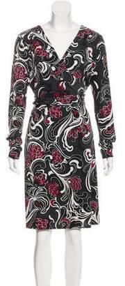 Nicole Miller Knee-Length Printed Dress