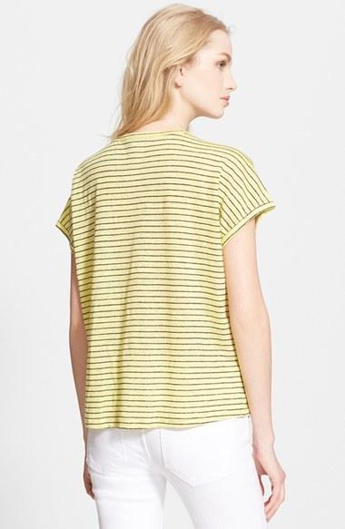 Joie 'Citali' Stripe Linen Tee 2