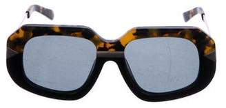 Karen Walker Hollywood Creeper Sunglasses w/ Tags