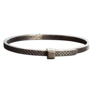Bottega Veneta Silver Steel Bracelet