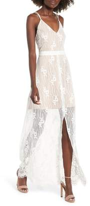 WAYF Blake Lace Maxi Dress