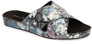 Women's Calvin Klein Maleena Slide Sandal $78.95 thestylecure.com
