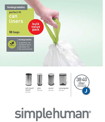 simplehuman™ Biodegradable Liners