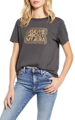 ban.do Ask Me About My Aura Ringer Tee