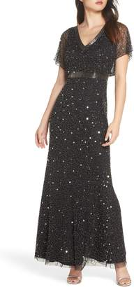 Adrianna Papell Bead Embellished Dress