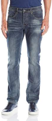 Buffalo David Bitton Men's Evan Slimmer Fit Straight Leg Jean in Dasher
