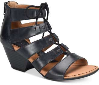 b.o.c. Helma Lace-Up Strappy Sandals Women's Shoes $95 thestylecure.com