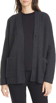 Eileen Fisher Cashmere & Wool Cardigan
