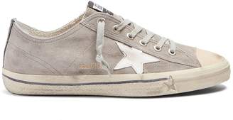 Golden Goose V-Star low-top suede trainers