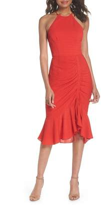 Cooper St Ti Amo Ruched Halter Dress