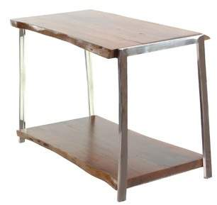 Foundry Select Alleyton Rustic Console Table with Bottom Shelf