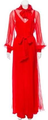 Lanvin Silk Belted Dress w/ Tags