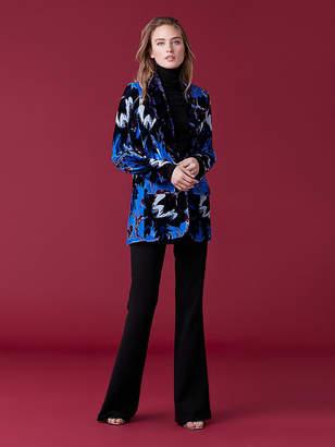 Diane von Furstenberg Tommy Velvet Jacket