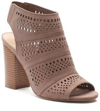 LC Lauren Conrad Women's Cutout Ankle Boots $59.99 thestylecure.com