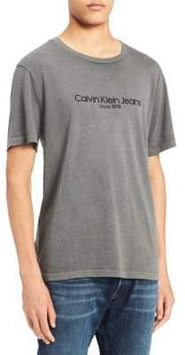 Calvin Klein Jeans Old School Cotton Crewneck Tee