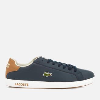 9e078b12acb0c Mens Lacoste Trainers Blue - ShopStyle UK