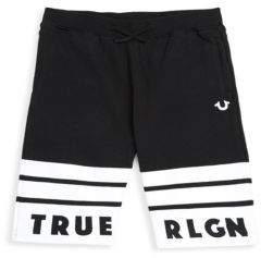 True Religion Little Boy's Logo Shorts