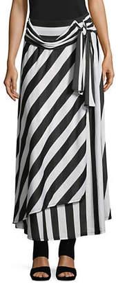 INC International Concepts Wrap-Tie Maxi Skirt