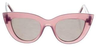 Quay Kitti Cat-Eye Sunglasses