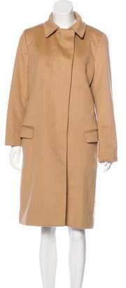 Helmut Lang Wool & Cashmere-Blend Coat